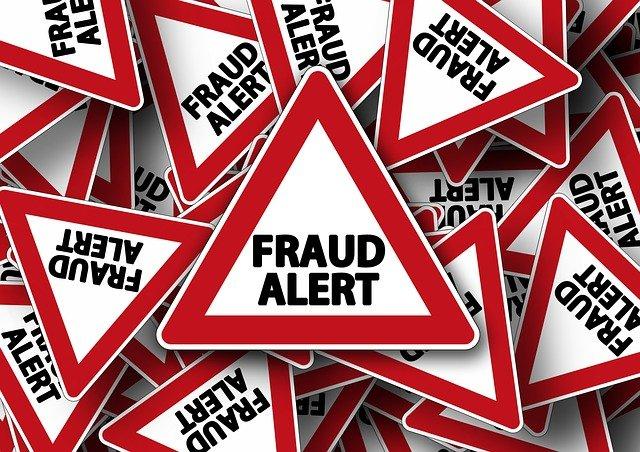 fraud alert foto